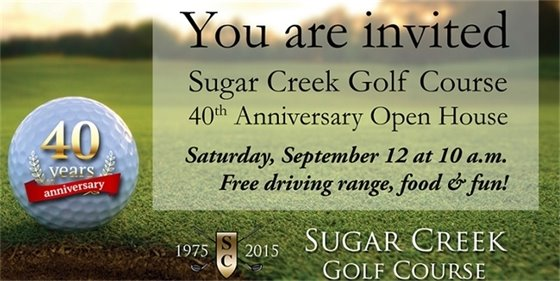 Sugar Creek Golf Course Open House 2015