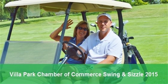 Villa Park Chamber of Commerce annual Swing & Sizzle