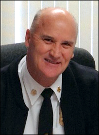 Photo of Fire Chief Ronald Rakosnik