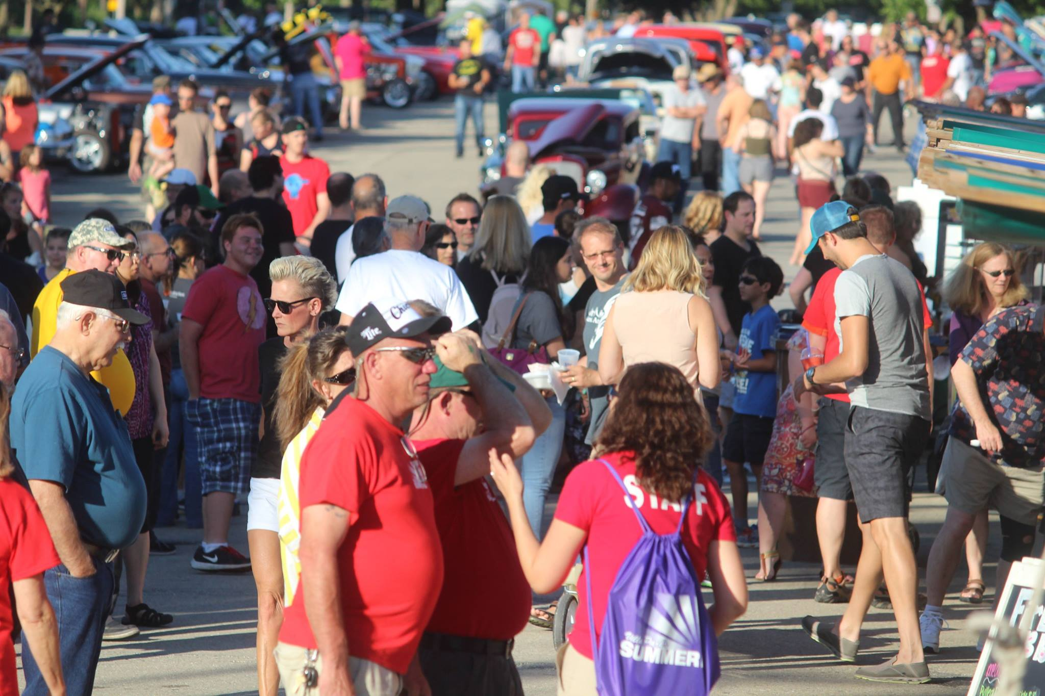 Crowded Street at Summerfest