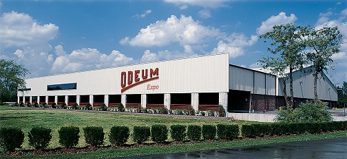 The Odeum building