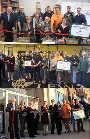 South Villa Avenue Ribbon Cuttings